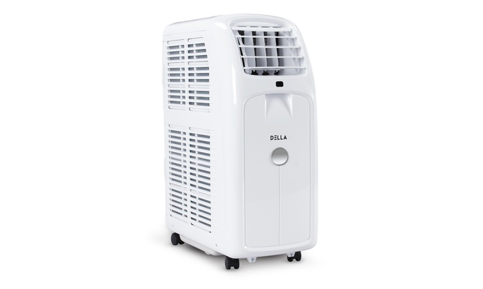 Della Portable Air Conditioner W Lcd Display And Remote Control Ul Listed Groupon