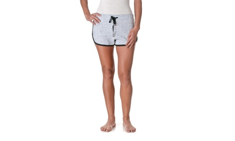 Active Basic Heathered French Terry Shorts P1076 51fea75b-c4d3-472c-95df-76b1e319889b