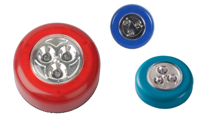 Perfect For Mounting To a Wall Led Push Lights