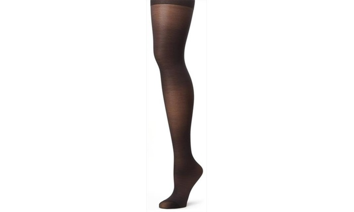 822129fbf70 Hanes 810 Womens Alive Full Support Control Top Reinforced Toe Pantyhose  Size ...