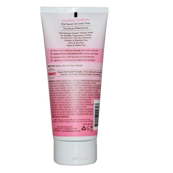 Babo Botanicals Smoothing Conditioner With Berry & Evening Primrose Oil