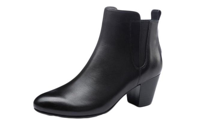 Women's Solid Cattlehide Martin Boots