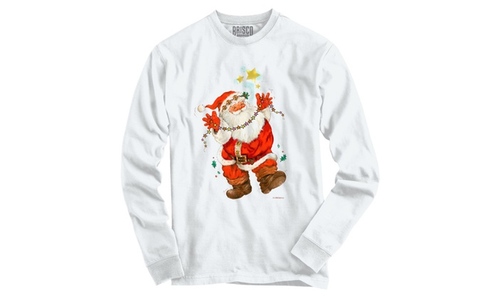 Happy Dancing Santa Long Sleeve T-Shirt