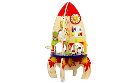 Wood Multi Activity Rocket ef471144-197a-4cf6-ad72-530021816556