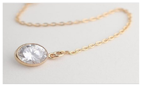 Gold Plated Crystal Statement Necklace for Women 451dc0b7-bf26-4247-a792-9e1a84ba6a94