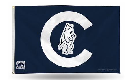 MLB Chicago Cubs 3'x5' Banner Flag 731d6394-50d6-4498-9df9-53dd8bbaea13