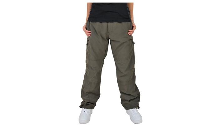 Men's Straight Leg Ripstop Cargo Pants