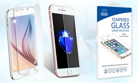 Rhino Tempered Glass for iPhone & Samsung Smartphones