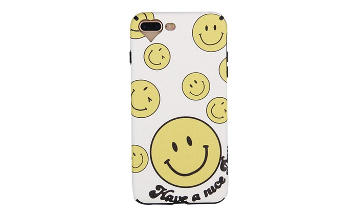 Fashion Smiling Face Emoji IPhone Series Phone Case Soft Silicone