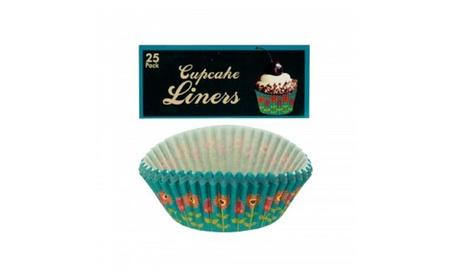 Owls & Flowers Cupcake Liners Or Picks bd8a5dbb-258e-41d5-967f-28bfac9e7795