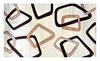 Hand Carved Vegas Rug Rugs Carpet New Modern Squares Beige