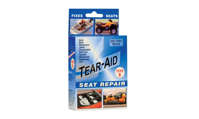 Tear-Aid D-KIT-B02-100 Seat Repair Patch Kit, Blue
