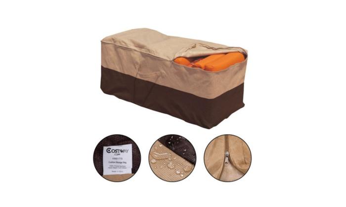 Swell Cushion Storage Bag Patio Furniture Decor Organizer Download Free Architecture Designs Scobabritishbridgeorg