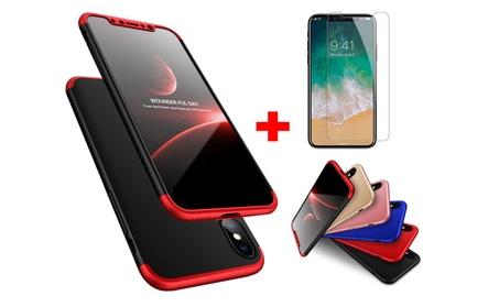 360° Protective Case with Tempered Glass for iPhone X, 8/8 Plus,7 Plus 65c21e10-dbb2-49c8-8da9-d4e4cdeb0150