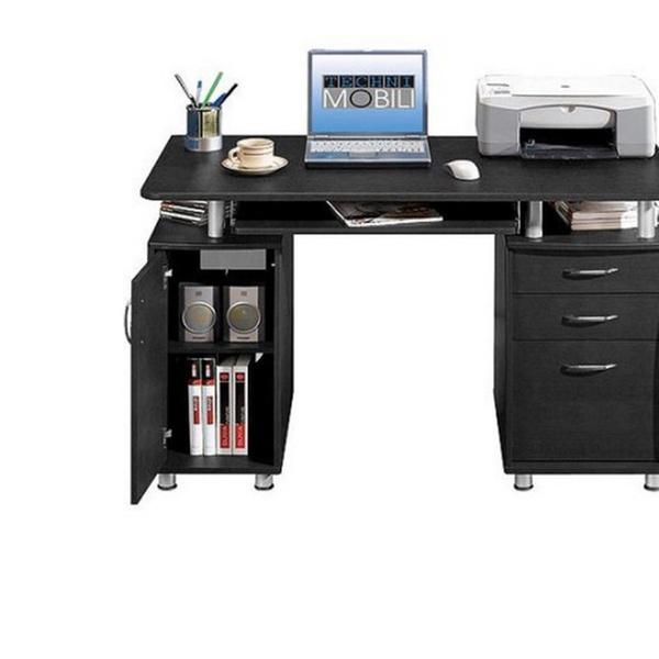 Techni Mobili Super Storage Computer Desk Espresso Groupon