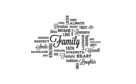 ROOMMATES RMK2741SCS Family Quote Peel and Stick Wall Decals 3f55a709-e5fc-44a8-9ff5-4f8449d0b659