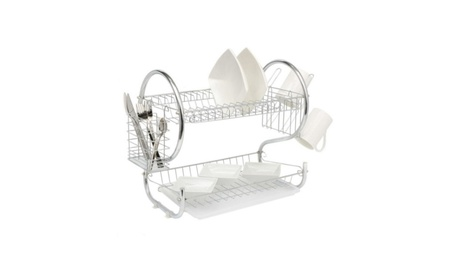Kitchen Dish Cup Drying Rack Holder Organizer Drainer Dryer Tray 1929f5ac-0c33-46a1-bb55-ce365ccc1436