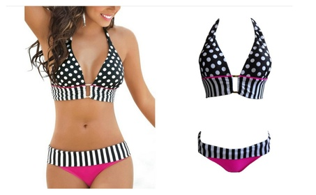 Women Bikini Set Triangle Push-Up Bra Swimsuit Beachwear 605a9634-2330-4bc8-b7b5-1306a5f458ac
