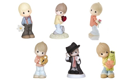 Precious Moments Boy In Love & Magic Figurines (Goods For The Home) photo