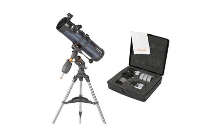 Celestron AstroMaster 130 EQ Telescope with AstroMaster Accessory Kit 5392cb96-2d3e-47df-a7c9-4c1df110fa69