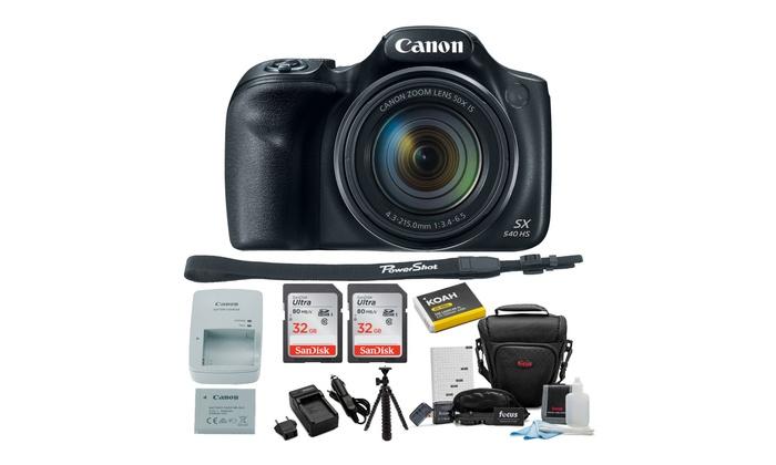 SDHC Canon PowerShot SX540 HS Digital Camera Memory Card 2 x 32GB Secure Digital High Capacity Memory Cards 2 Pack