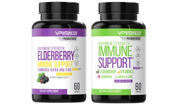 Immune Support Capsule with Vitamin C and Elderberry with Zinc Capsules