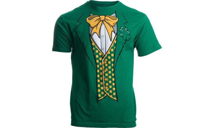 c3fe6036 Up To 59% Off on Leprechaun Tuxedo Funny St. ... | Groupon Goods