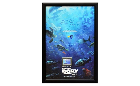 Finding Dory - Signed Movie Poster in Wood Frame with COA 7da25459-7ca8-4305-a471-fec829cfcaa2