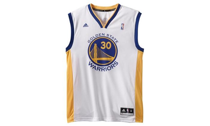 brand new 1e81c b127b NBA Golden State Warriors Stephen Curry #30 Men's Replica Jersey