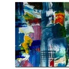 Michelle Calkins 'Color Relationships II' Canvas Art