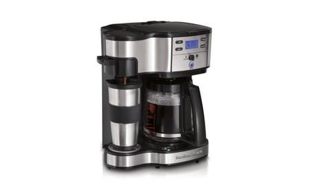 Hamilton Beach Single Serve and Full Pot Coffee Brewer Maker, 2 Ways 18431fba-dc3d-41a8-b47b-072ced4ee2e0