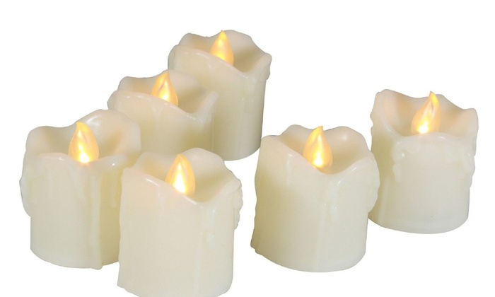 Flameless Votive Candles Magnificent EcoGecko 60 Piece LED Flameless Votive Candles Battery Operated With