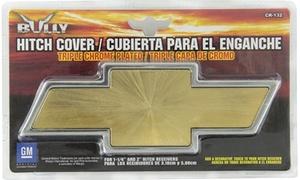 Pilot Automotive CR-132 Chevrolet Chrome With Amber Center Hitch Cover