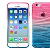 Insten Ripple TPU Cover Case For Apple iPhone 6 6s Hot Pink Blue