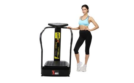 X-MAG Carzy Fit Vibration Platform Fitness Machine Massage Slim Black 2757cb04-b7a6-4a8b-aee5-371246fdef17