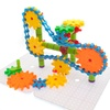 PicassoTiles Interlocking Wheel/Gear S.T.E.A.M. Building Block Set