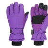 Women's Night Galaxy Thinsulate Waterproof Touchscreen Snow Gloves