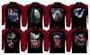 Gr8dealS: American Flag Patriotic 'Merica Design Black/Red Baseball Shirts