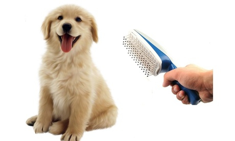 QPower Top Quality Premium New Ionic Pet Care Grooming Brush 969b4b85-bdb9-4be7-a8ab-cee01a087326