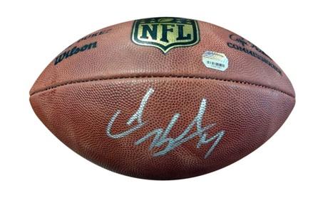 Autographed Colin Kaepernick San Francisco 49ers Official NFL Leather d06e9ff0-4d79-4609-85b6-49fa018b4045
