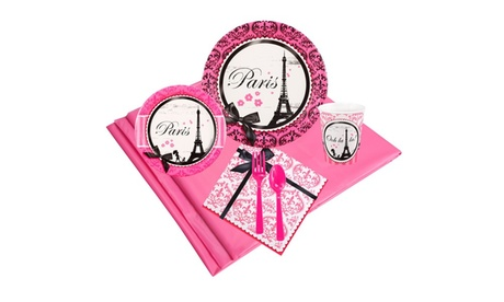 Paris Damask 24 Guest Party Pack 7bc8c3f5-bbaa-4bb1-982c-c3f89adfd645
