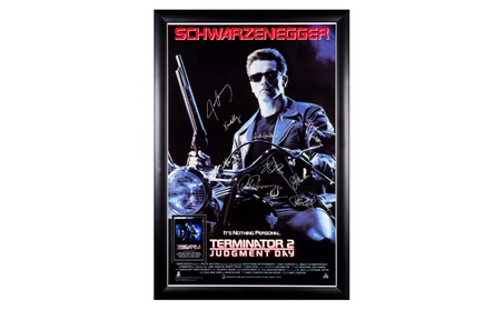 Terminator 2 Judgment Day - Cast Signed Movie Poster 98038155-f936-4c69-9828-0505dd209824