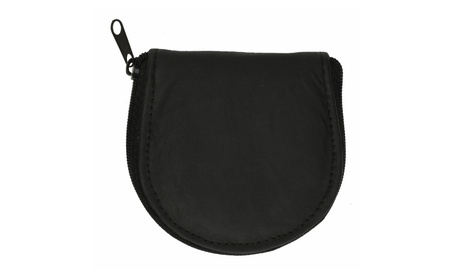 Genuine Leather Accordion Style Change Purse Black (Goods Women's Fashion Accessories Wallets) photo