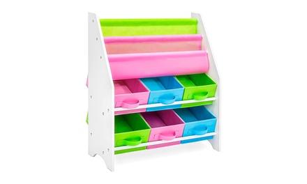 Kids Furniture Toy and Bookcase Storage Shelf Organizer