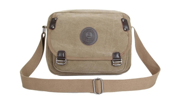 b56a32c78af4 Canvas Messenger Bags and Commuter Bags For Men