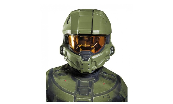Disguise Master Chief Child Helmet Costume