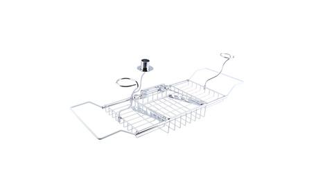 Bathtub Shelf Caddy Holder Bathroom Storage Organizer Tub Rack ce9abb5c-c5a2-448b-bf0b-eaaf0f4c548c
