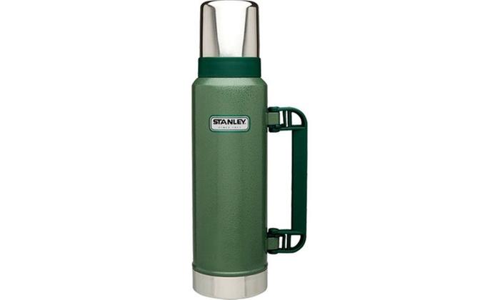 Stanley Classic Vacuum Bottle Hammertone Green 1.4 qt