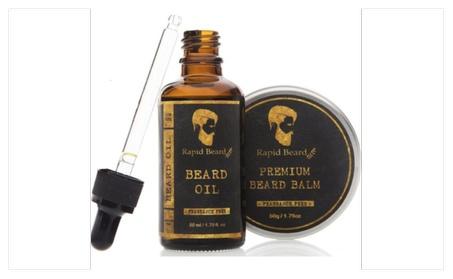 Beard Oil + Beard Balm Kit For Men Care d1302a0f-e570-4b60-95c8-50c40fe5a36f