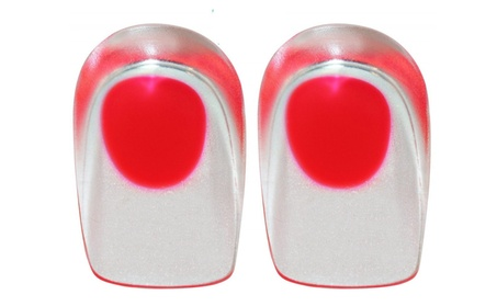 Premium Dual-Layer Gel Comfort Heel Cup (2 Pack) (Red) 62adcf73-3a8b-4a53-9195-a34870d10362